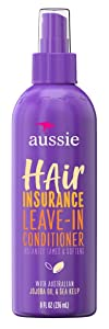Aussie Conditioner Hair Insurance Leave-In Spray 8 Ounce (236ml) (3 Pack)
