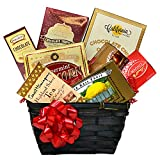 Gourmet Gift Basket with Lindt Chocolate
