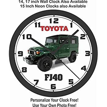 TOYOTA FJ40 WALL CLOCK-FREE USA SHIP!