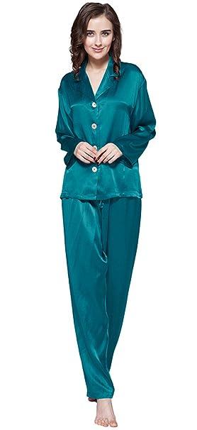 Lilysilk Pijamas Mujer De Seda Clásicas 100% Seda De Mora Natural De Grado 6A,