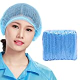 100PCS Surgical Caps Disposable, Formemory Hair Net Non-Woven Hair Cover Comfort Protection Suitable for Medical, Laboratory, Nurse, Cooking, Food Service, Hygiene, Hospital