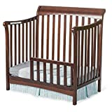 Child Craft Toddler Guard Rail for Mini Convertible Crib Select Cherry