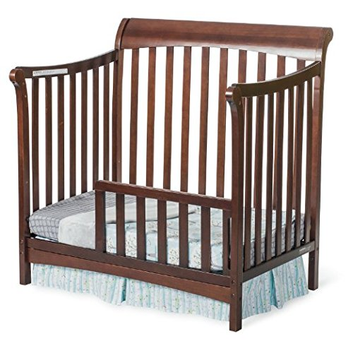 Child Craft Toddler Guard Rail for Mini Convertible Crib Select Cherry by Child Craft