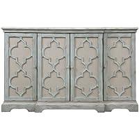 Sophie 4 Door Grey Cabinet