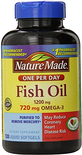 nature made fish oil one per day - 2