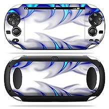 Mightyskins Protective Vinyl Skin Decal Cover for PS Vita PSVITA Playstation Vita Portable wrap sticker skins Blue Fire