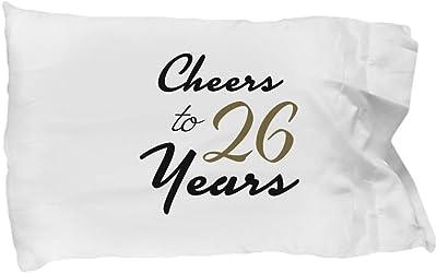 DesiDD 26th Birthday Pillowcase