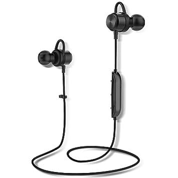 Auriculares Bluetooth, Arbily Auricular Magnéticos Bluetooth 4.1, Cascos Inálambrico CSR Chips HiFi Estéreo, Sweatproof IPX7, Micrófono Incorporado y ...