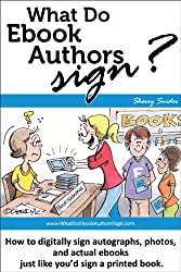 What Do Ebook Authors Sign?