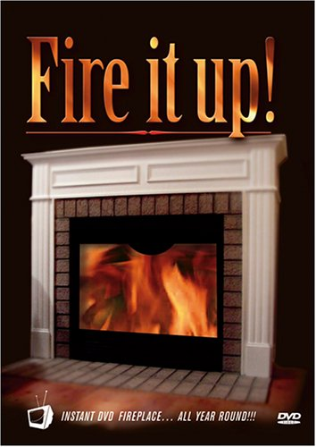 World Marketing Fireplace - Fire It Up!: Instant DVD Fireplace... All Year Round