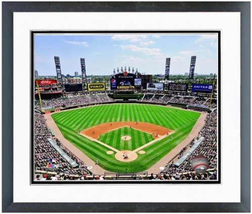 Chicago White Sox US Cellular Field MLB Stadium Photo (Size: 26.5