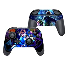 Yuntown Vinyl Decal Skin Sticker Wrap Cover for Switch Pro Controller -K0C3
