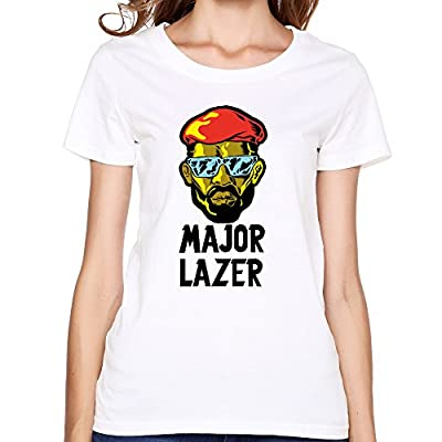 Woman's Major Lazer Lean On MØ & DJ Snake Free The Universe Shirt
