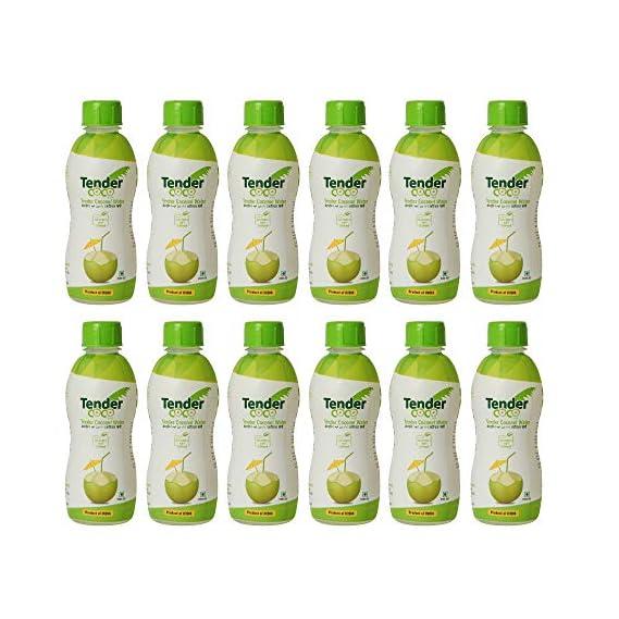 Tender Coco 100% Natural Tender Coconut Water, 250ml (Pack of 12)