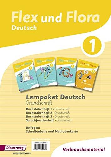 Flex und Flora: Paket Deutsch 1 in Grundschrift