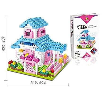 Princess Style Building Blocks MINI Bricks NANO Blocks, Horse Carriage VANKI