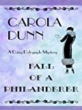 Fall of a Philanderer, Carola Dunn, 0786279990