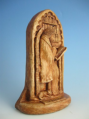 St. Isidore of Seville: Patron of Internet Technology Professionals, Scholars, Scientists; Handmade Statue by In the Company of Saints (Image #1)