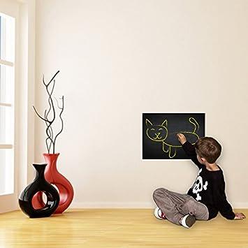 Vinilo decorativo de pared de vinilo de pizarra (100x100cm ...