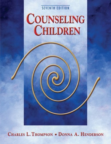 Counseling Children by Charles L. Thompson (2006-06-23)