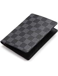 Luxury Passport Holder Cover Case   PU Vegan Leather RFID Travel Organizer Card Holder