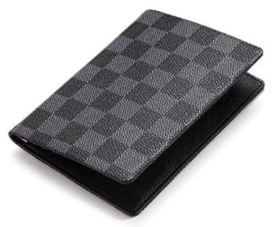 Daisy Rose Luxury Passport Holder Cover Case | PU Vegan Leather RFID Travel Organizer Card Holder Black Size: Small