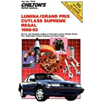 Amazon best sellers best automotive industry chevy lumina gran prix cutlass supreme and regal 1988 92 fandeluxe Choice Image