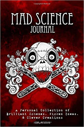 Mad Science Journal Red Edition 100 Page Blank Journal