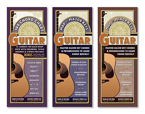 laminated guitar chord chart - 8
