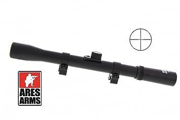 Ares arms zielfernrohr 4 x 20 für kleinkaliber. und luftgewehre