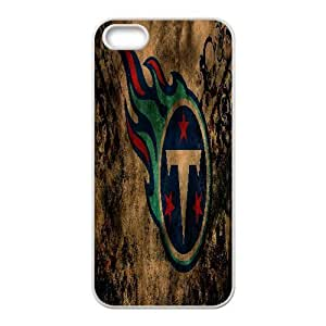 IPhone 5,5S Cases Tennessee Titans 1, IPhone 5,5S Cases Tennessee Titans, [White]