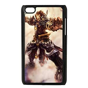 iPod Touch 4 Case Black League of Legends General Wukong Faypg