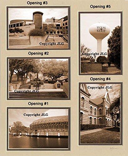 Texas State University (TSU) (Southwest Texas) Photo College Collage - San Marcos, TX