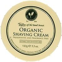 Taylor of Old Bond Street Organic Shaving Cream Bowl 150 g by Taylor of Old Bond Street