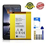 for T-Mobile ZTE ZMax Pro Z981 Replacement Battery Li3934T44P8H876744 Adhesive Tool
