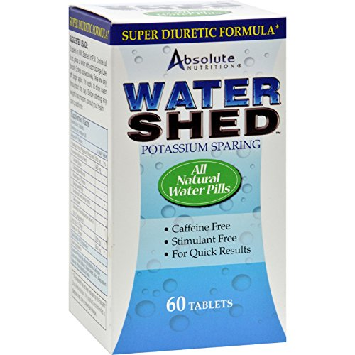 (Absolute Nutrition Watershed - Potassium Sparing - All Natural - 60 Tablets (Pack of)
