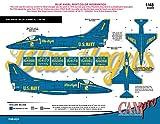 CAM Pro Decals CAMP48024 1:48 A-4F TA-4J Skyhawk Blue Angels 1978 [WATERSLIDE DECAL SHEET]
