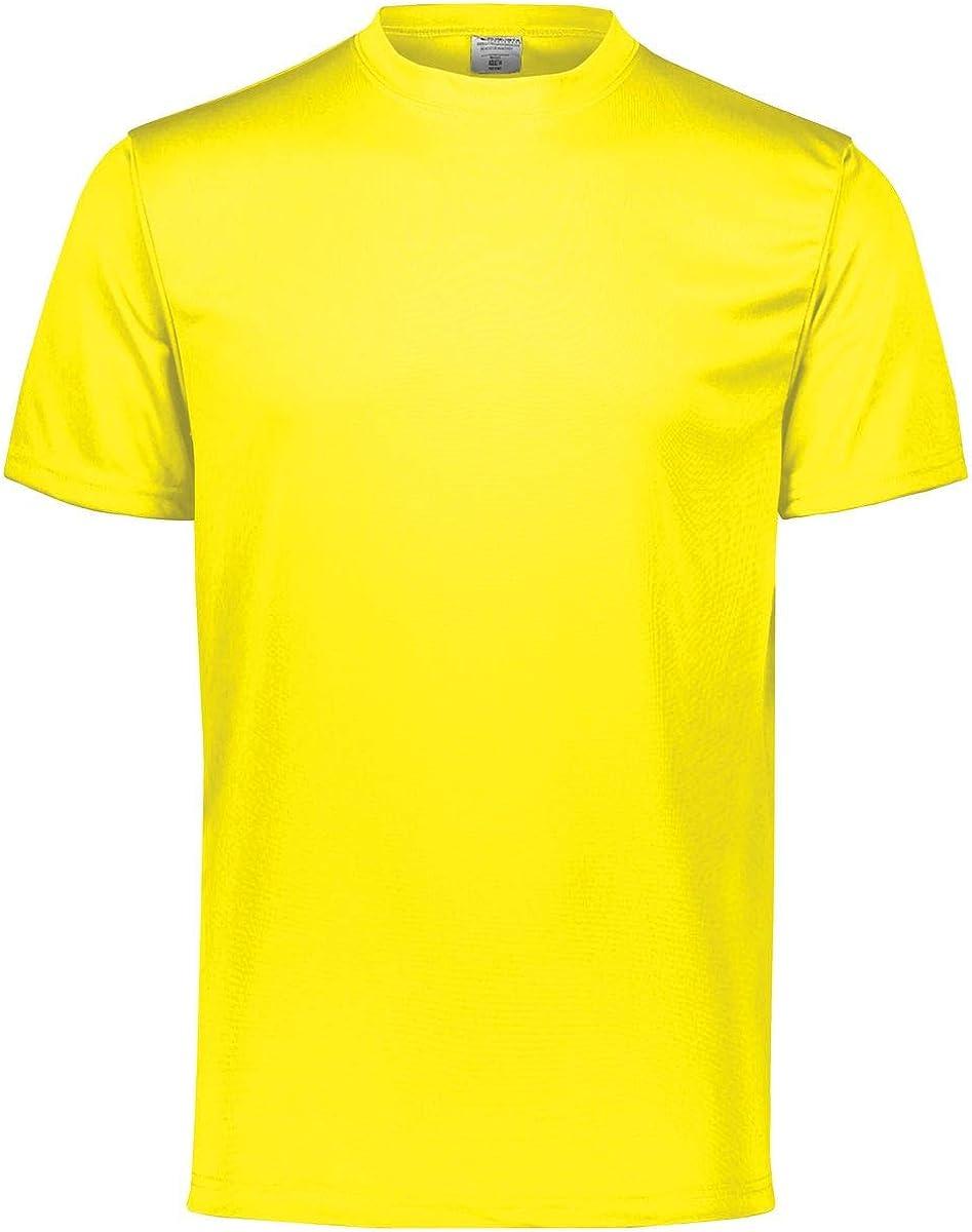 Power Yellow Augusta Sportswear Boys Small Wicking T-Shirt
