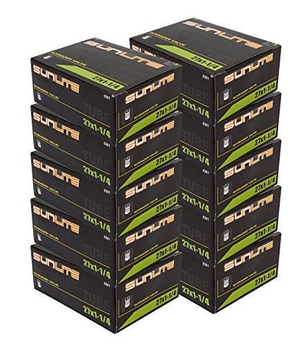 10 Pack Best Deal   Tube  27 X 1 1 4 Schrader Valve  32Mm  Sunlite  10 Pack Special
