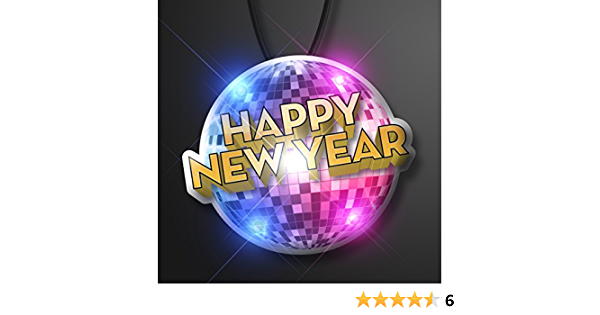 2020 New Years Light Up LED Flashing Blinky Pin Party Gift Favor 2020 Pin X2