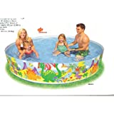 Intex Jungle Snap-set pool 244cm 58472 (japan import)