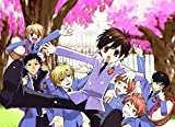 Ouran High School Host Club 33x24 inch Plastic Poster - Waterproof - Anti-Fade - Can Use On Outdoor/Garden/Bathroom - 8PPDC92