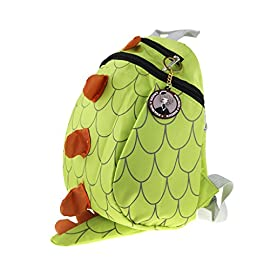 Toddlers Mini Dinosaur Backpack Zipper Toy Snack Daypack Shoulder Bag Age 1-4