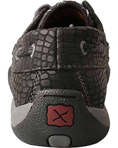 Black Twisted Wdm0110 X Moccasin Driving Toe Moc Shoes Ivory Women's q7qwAz