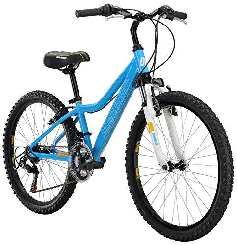 Diamondback Bicycles Lustre 24 Kid's Mountain Bike, 24' Wheels, Blue