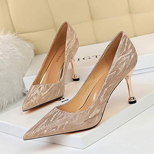 サンダル レディース ハイヒール 歩きやすい ヒール/天女靴 (s3 ヒール7.5CM 38サイズ、24cm) [並行輸入品]