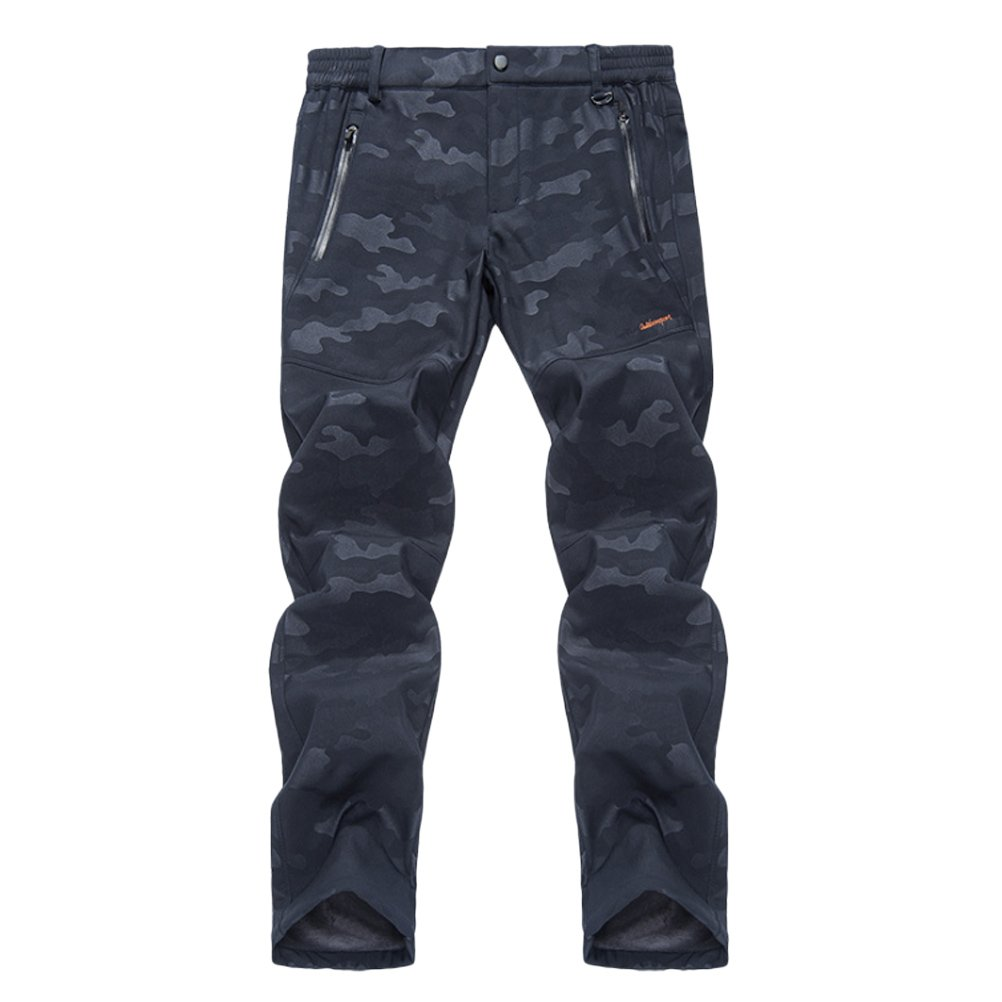 Zhhlaixing Mens Outdoor Deportes Windproof Warm Ski Trousers Camouflage Soft Climbing Shell Breathable Climbing Soft Pants a4d1dd