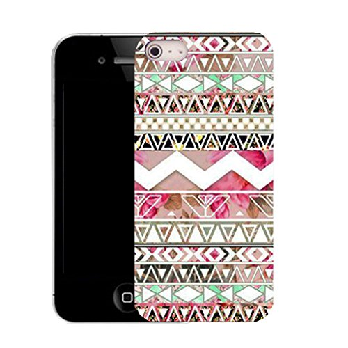 Mobile Case Mate IPhone 4 clip on Silicone Coque couverture case cover Pare-chocs + STYLET - soul frame pattern (SILICON)