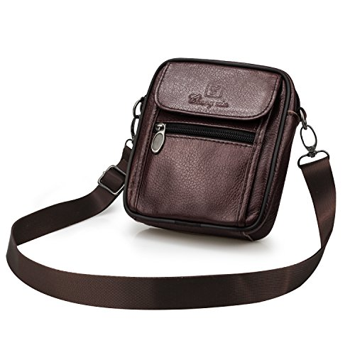 7 Body Shoulder For Men Plus Genuine Messenger Belt Hiking Man Small Coffee Business Satchel Bagzy Purse Travel Holster Leather Iphone Pouch Mobile Waist Sport Bag Phone Case Cross xBwTnOx0qU