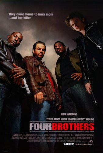 Four Brothers Movie Poster - Pop Culture Graphics Four Brothers Poster B 27x40 Mark Wahlberg Andre Benjamin Tyrese Gibson